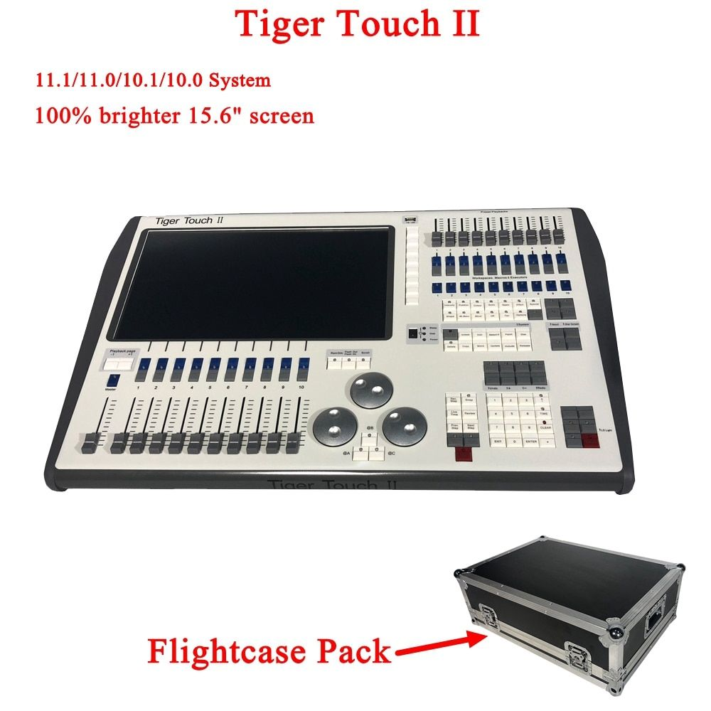 NEUE Tiger Touch II Controller DJ Ausrüstung DMX 512 Konsole Bühne Beleuchtung Für LED Par Moving Head Scheinwerfer Disco DJ controlle