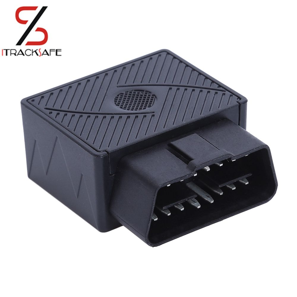 Plug <font><b>Play</b></font> OBDII OBD2 OBD 16 PIN Auto Car GPS Tracker locator with web vehicle Fleet Management system IOS & Android APP