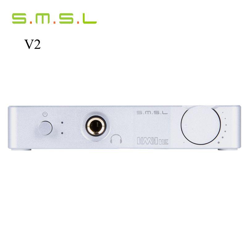 Hohe Qualität SMSL VMV V2 USB HD Kopfhörer Verstärker Audio Decoder Schnittstelle Hifi Exquis 32Bit/384 Khz DAC/optische Analogausgängen