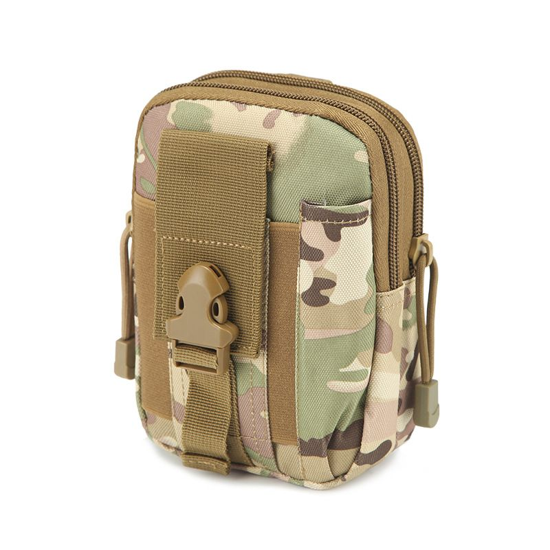 Empty Bag for Emergency Kits First Aid Kit Military Waist Camouflage Fanny Pack Outdoor Camping Travel Tactical Molle Pouch Mini