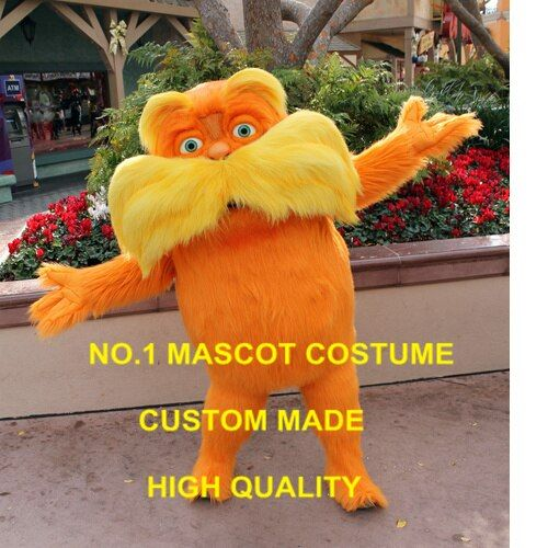 old lo man Mascot Costume Adult Size High Quality Plush Cartoon Character Speak for Tree Anime Cosply Costume Carnival 2459