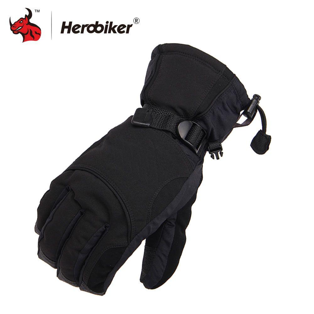 2017 Man Winter Sport Waterproof Motorcycle Gloves -30 Degree Motorcross Riding Gloves Snowboard Skiing Warm Gloves with LOGO