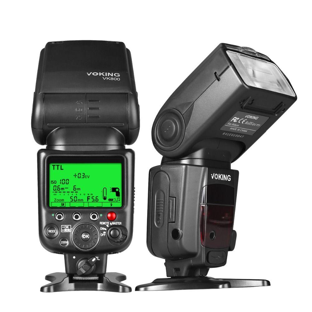 Voking TTL Flash Speedlite VK800 pour Nikon D60 D90 D3000 D3100 D3200 D5000 D5100 D5200 D7000 D7100 Reflex Numériques
