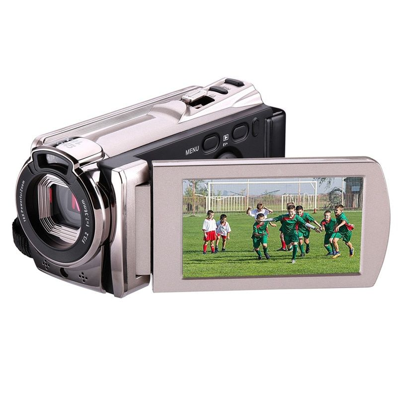 Night Vision Wifi FHD Video Camera HDV-6052STR 1080P 16X Digital Zoom 3 Inch Touch Screen Portable LCD HDV Video Camcordert