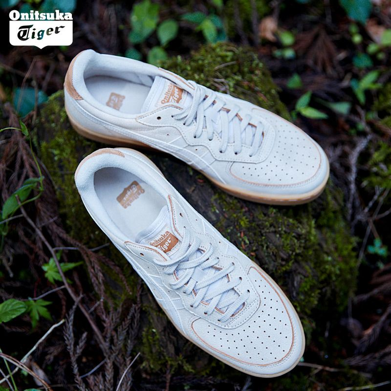 Onitsuka Tiger Skateboarding Shoes Unisex Comfortable Breathable Leisure Cowhide Shoes for Men Women Non-slip GSM 1183A039