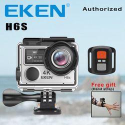 Action Camera Deportiva EKEN H6S (Oldname V8S) Ultra HD 4K WiFi Electronic Image Stabilization Go Waterproof Pro Sport DV Camera