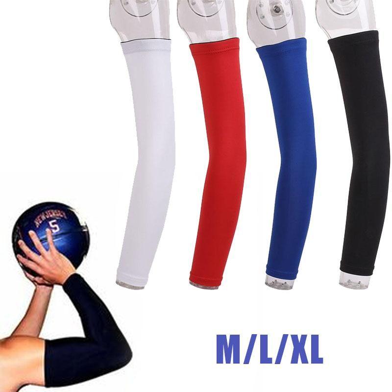 Relefree Kompression Läuft Radfahren Arm Wärmer Schutz Basketball Volleyball Golf Sport Arm Ärmel Fahrrad Arm