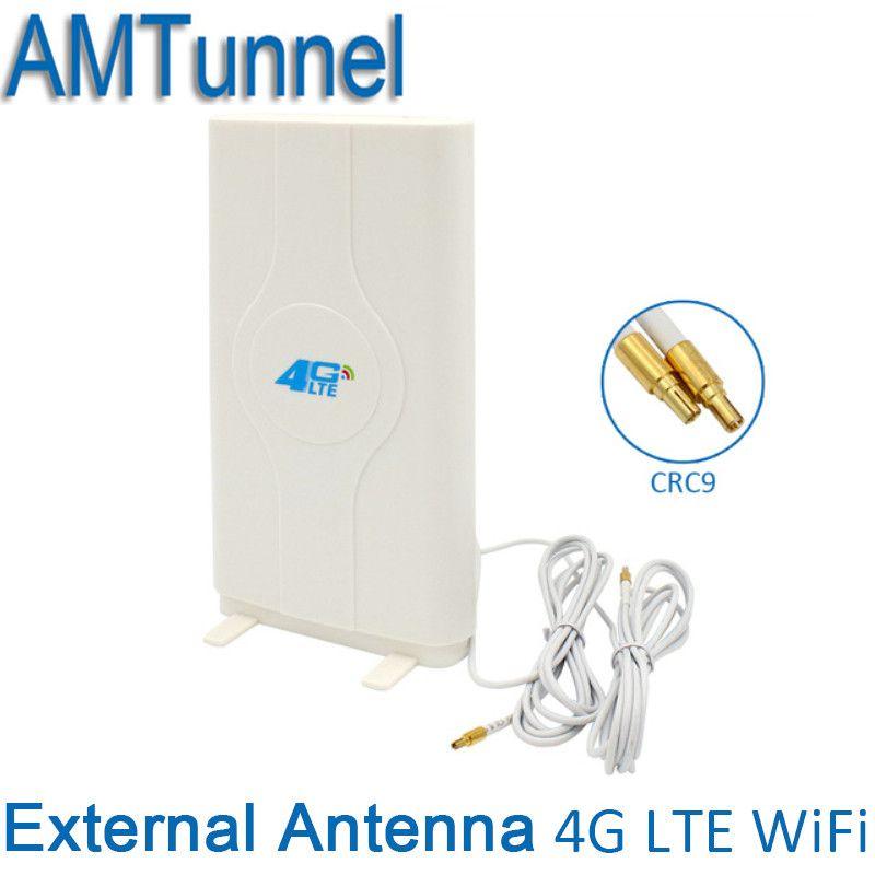 4G LTE  External Panel Antenna 700-2600MHz  antenna CRC9 Connector