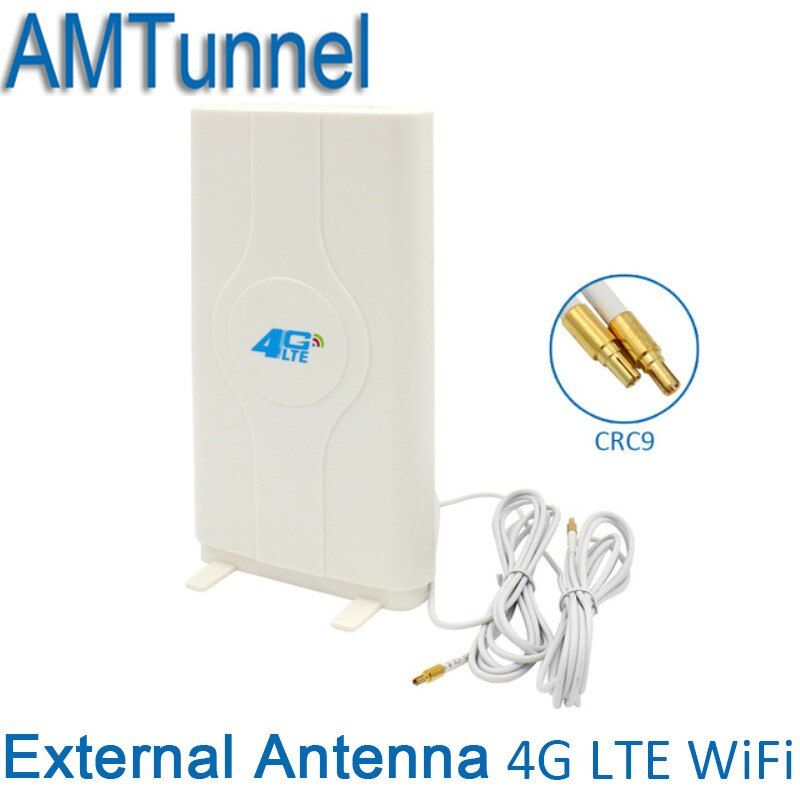 4G LTE Externe Panel Antenne 700-2600 MHz antenne CRC9 Anschluss