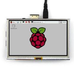 5 inch LCD HDMI Touch Screen Display TFT LCD Panel Module 800*480 for Banana Pi Raspberry Pi 4B Raspberry Pi 3 Model B / B+