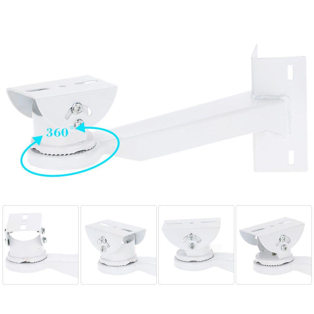 Cámara de Vigilancia de Seguridad de vídeo Soporte Ajustable 360 grados Polo CCTV Soporte De Montaje del sostenedor del soporte para la cámara de Seguridad CCTV
