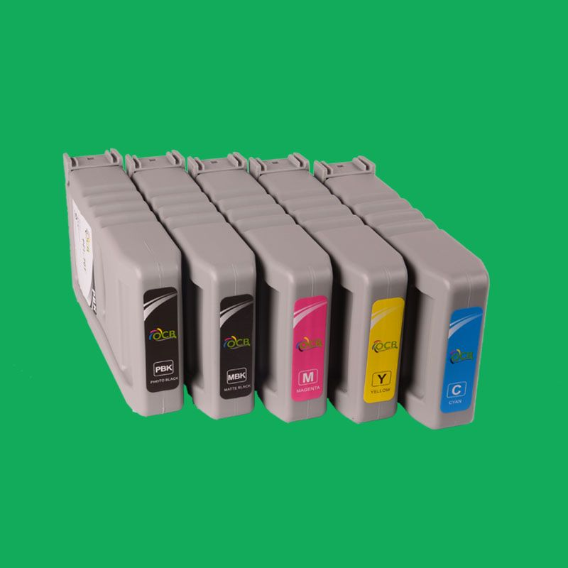 Alibaba golden supplier For Canon iPF8000s 9000s 8010s 9010s empty Compatible Ink Cartridge With chip-can refill ink