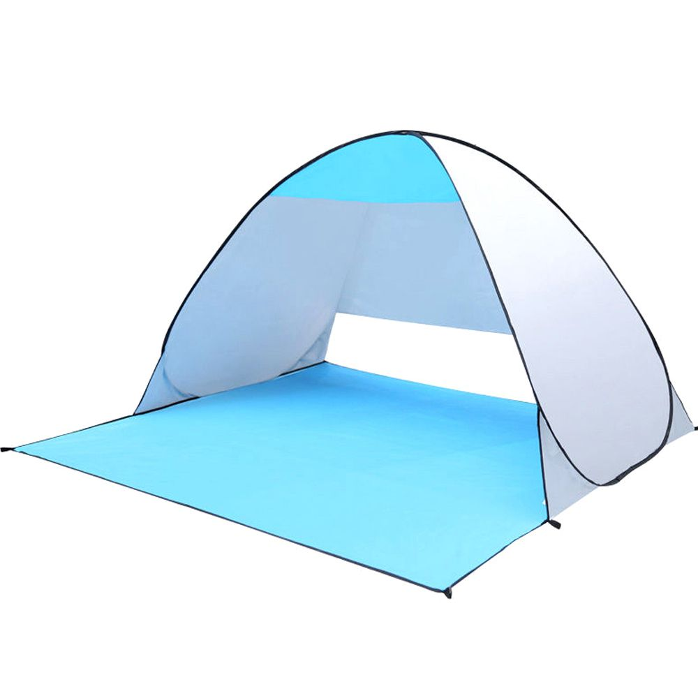 Quick <font><b>Automic</b></font> Opening Beach Tent UV-protection Camping Sun Shelter ice fishing Tents Waterproof Polyester Fabric