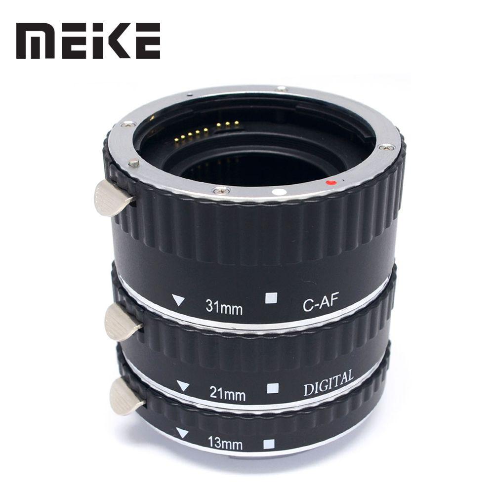 Meike En Métal Auto Focus Macro MPA Tube D'extension pour Canon 1100D 1300D 1200D 80D 7D 550D 30d 60D 5DII 5DIII 7DII T5i T4i T3i T2i