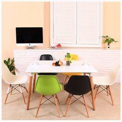 U-BEST gaya Nordic meja makan Kayu, modern sederhana kayu solid meja makan dan kursi