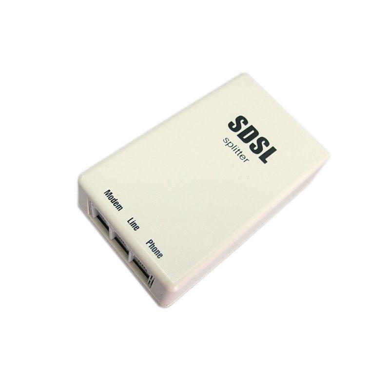 HQ Téléphonique à large bande séparateur filtre bruit réduction protection contre la foudre Anti-ingérence RJ11 connecteur Pour SDSL ADSL modem