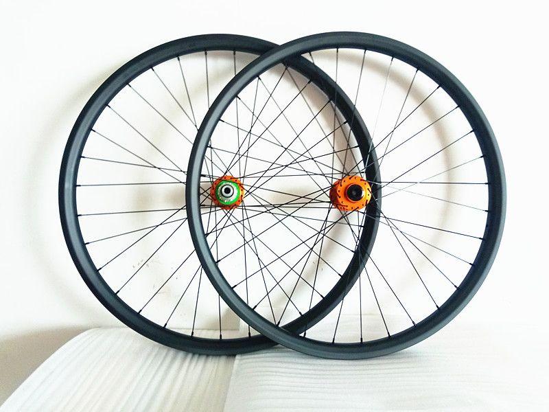 HOPE pro4 boost carbon MTB wheels 27.5er 29er mtb wheels MTB bike wheels UD matte Mountain bicycle30mm-35mm width MTB wheelset