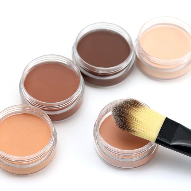 Aurelife nouveau 5 couleur Visage Yeux Lèvres Crémeux Stick Correcteur maquillage Correcteur Crème Cosmétiques Vente Chaude Femmes Camouflage