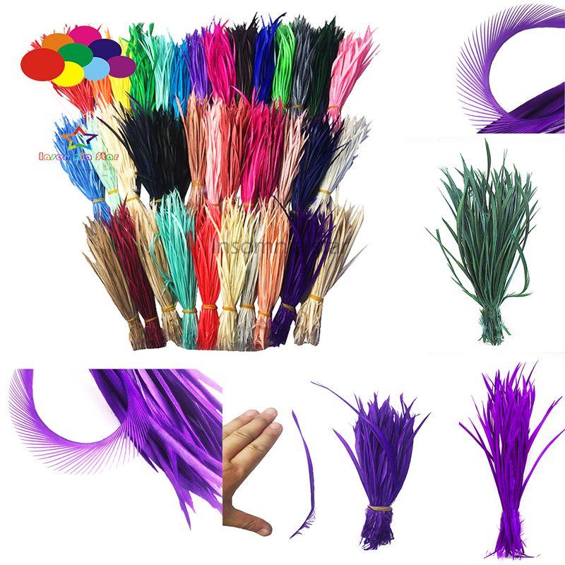 100 stücke 100% Natürliche Gans Feder 15-20 cm/6-8 inch mehrfarben Hohe Qualität für diy kostüm maske kopfschmuck