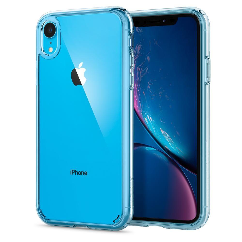 100% Original SPIGEN Ultra Hybrid Clear Back Cover Cases for iPhone XR (6.1