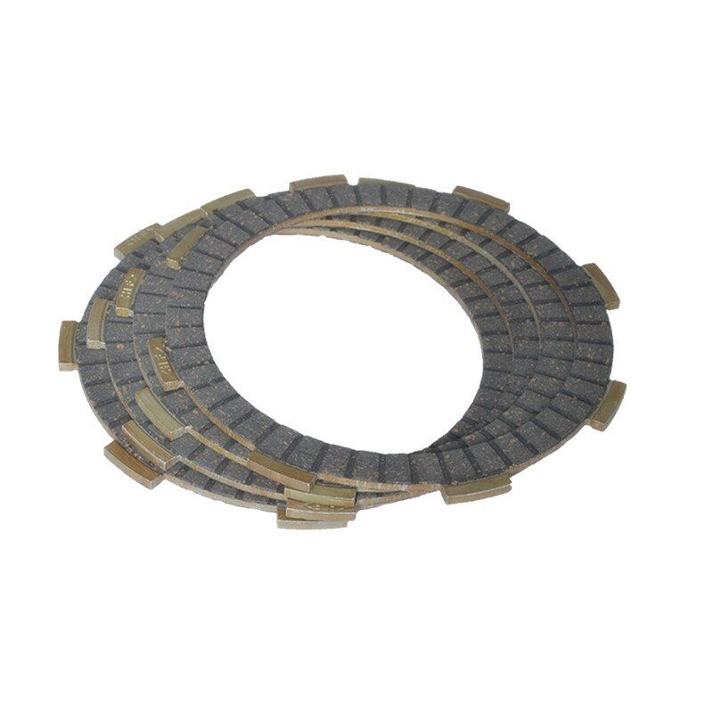 2088 (4pcs/set)High Quality Clutch Friction Plates Kit Set For Yamaha YBR125 YBR 125 Replacement Spare Parts