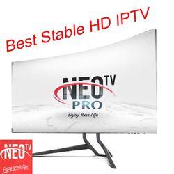 Neotv PRO 1200 Canaux Français IPTV Europe Arabe Belgique IPTV code d'abonnement LiveTV M3U MAG254 Android Smart TV un an