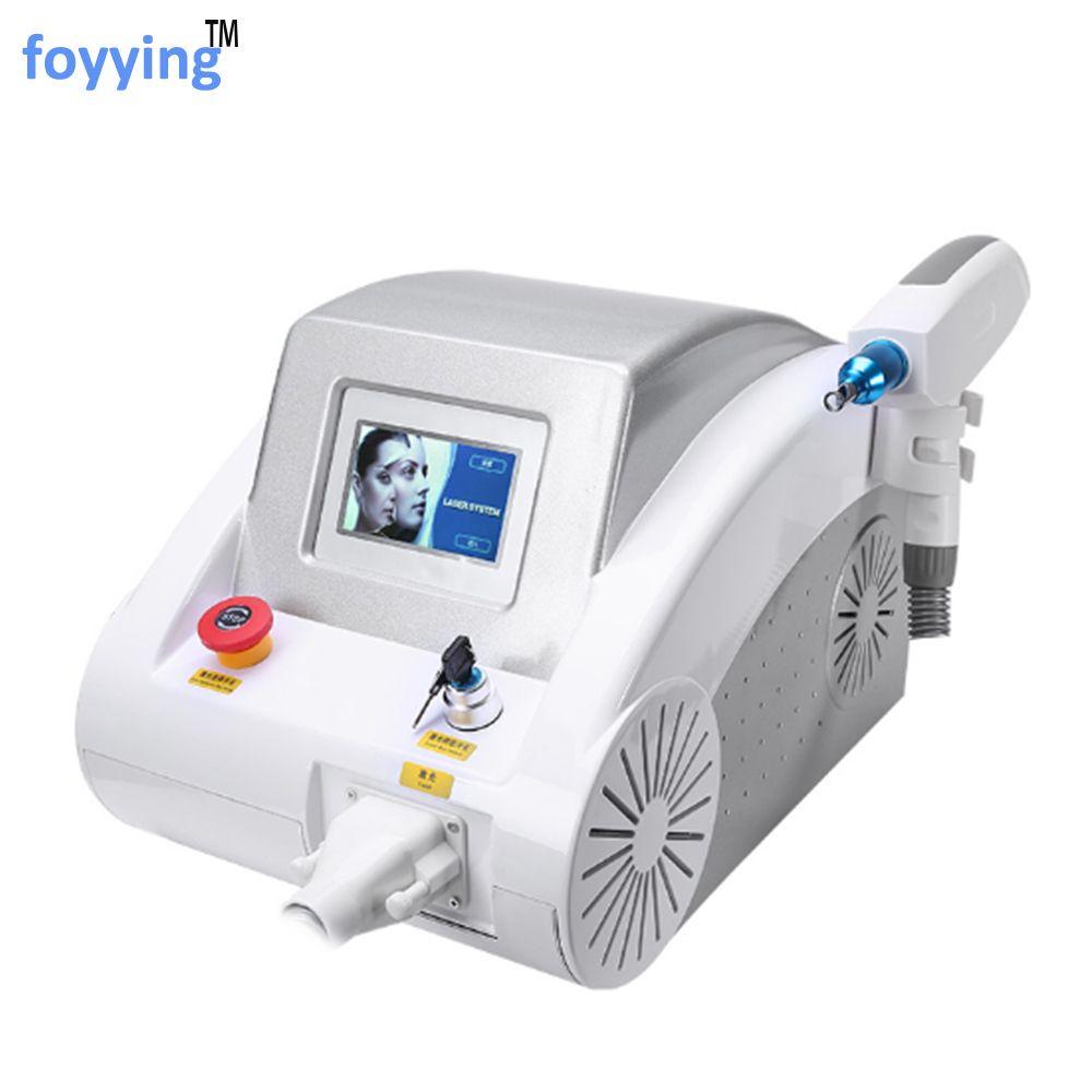 Foyying 2019 heißer 1064nm 532nm 1320nm ND YAG laser tattoo entfernung augenbraue pigment entfernung maschine