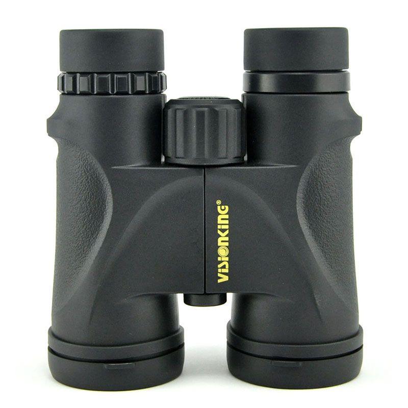 Visionking prismaticos 10x42 Водонепроницаемый бинокль телескоп азота Bak4 крыши Бинокль Охота birdingwatching Кемпинг Сфера