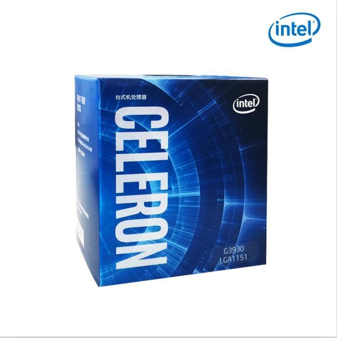 brand new intel G3930 CPU 2.9G 51W 2 Cores 2 Threads B0 LGA 1151 14nm Desktop CPU l3 2MB Cache HD VGA