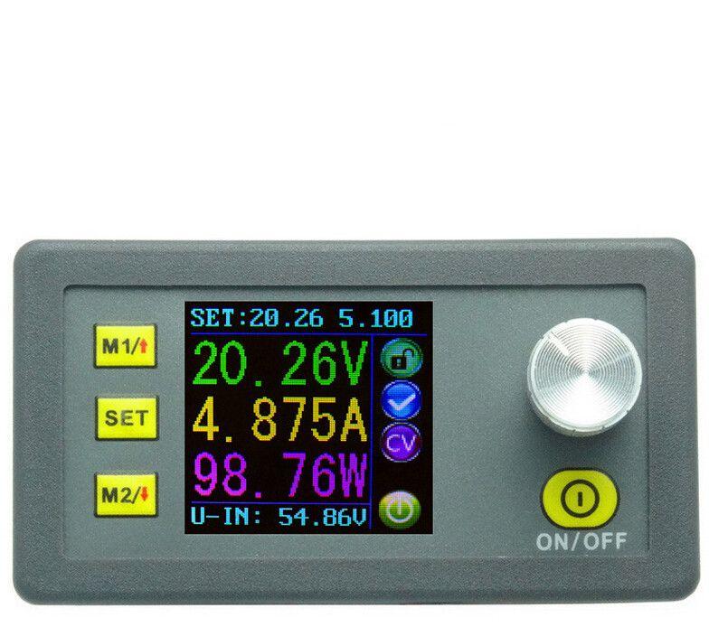 DP50V5A Constante Tension testeur de Courant indicateur Écran lcd Voltmètre abaisseur Programmable Module D'alimentation Ampèremètre