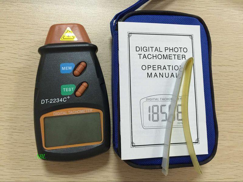Le plus récent! Tachymètre Laser numérique de 2.5 à 100,000 tr/min tachymètre à affichage LCD automatique haute résolution livraison gratuite
