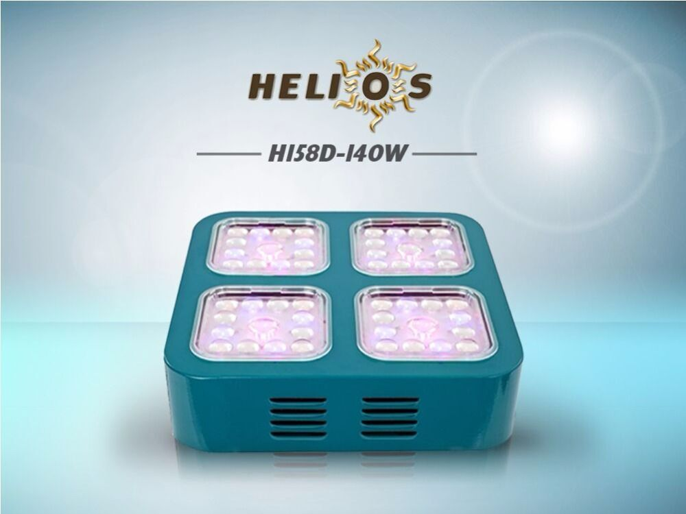 Helios LED grow light 3watts CREE LEDs full spectrum optical lens module design indoor plants grow box/ tent hydroponic system