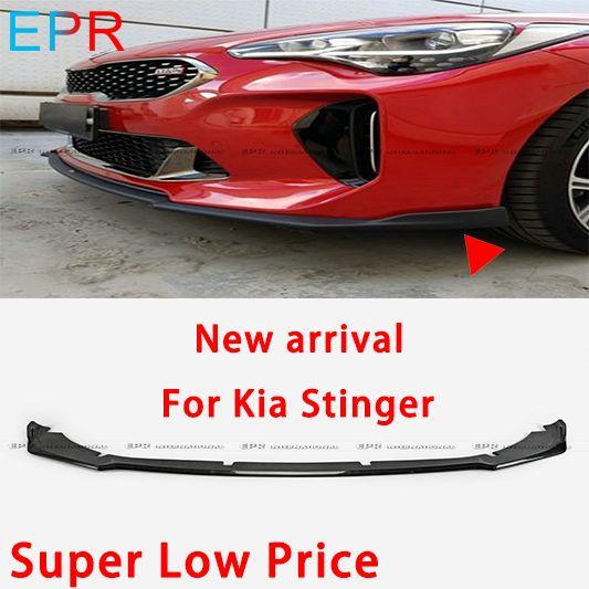 Für Kia Stinger Typ M Carbon Fiber Front Lip Stoßstangen Zubehör Körper kit