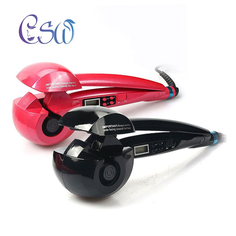 CSW LCD Screen Automatic Hair Curler Heating Hair Care Styling Tools Ceramic Wave Hair Curl Magic Curling Iron Hair Styler NEW