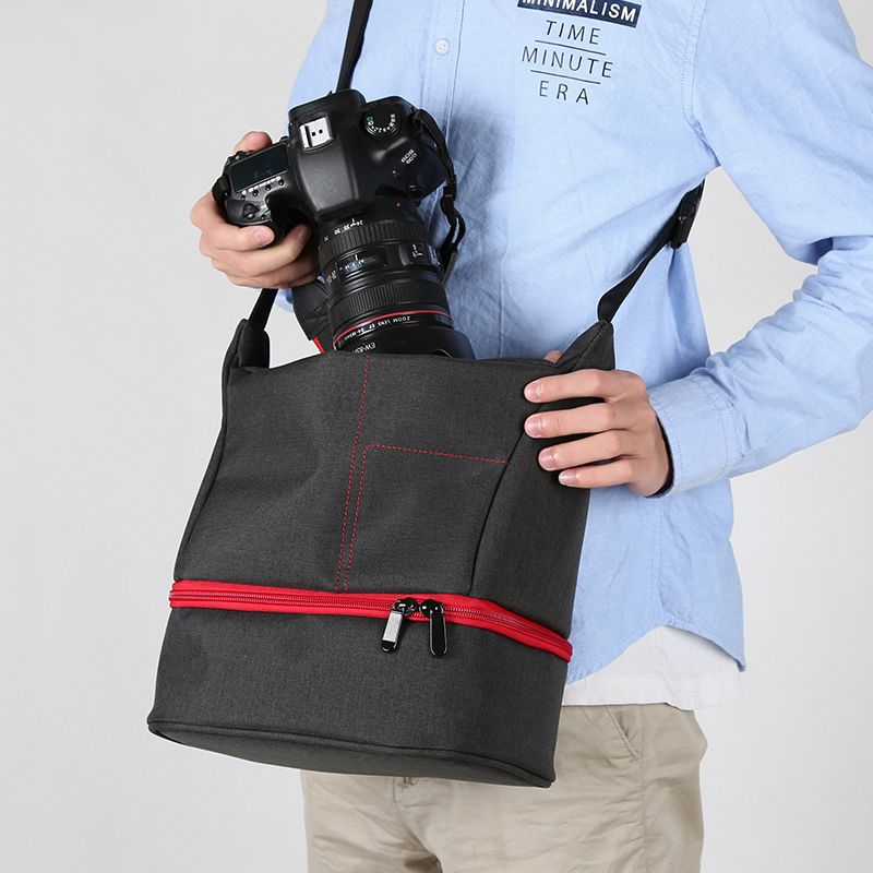 Waterproof SLR Camera Bag for Canon EOS 5D Mark III IV II 7D 6D 5DS 5DR 700D 600D 1300D 760D 80D 70D Travel Shoulder Camera Case