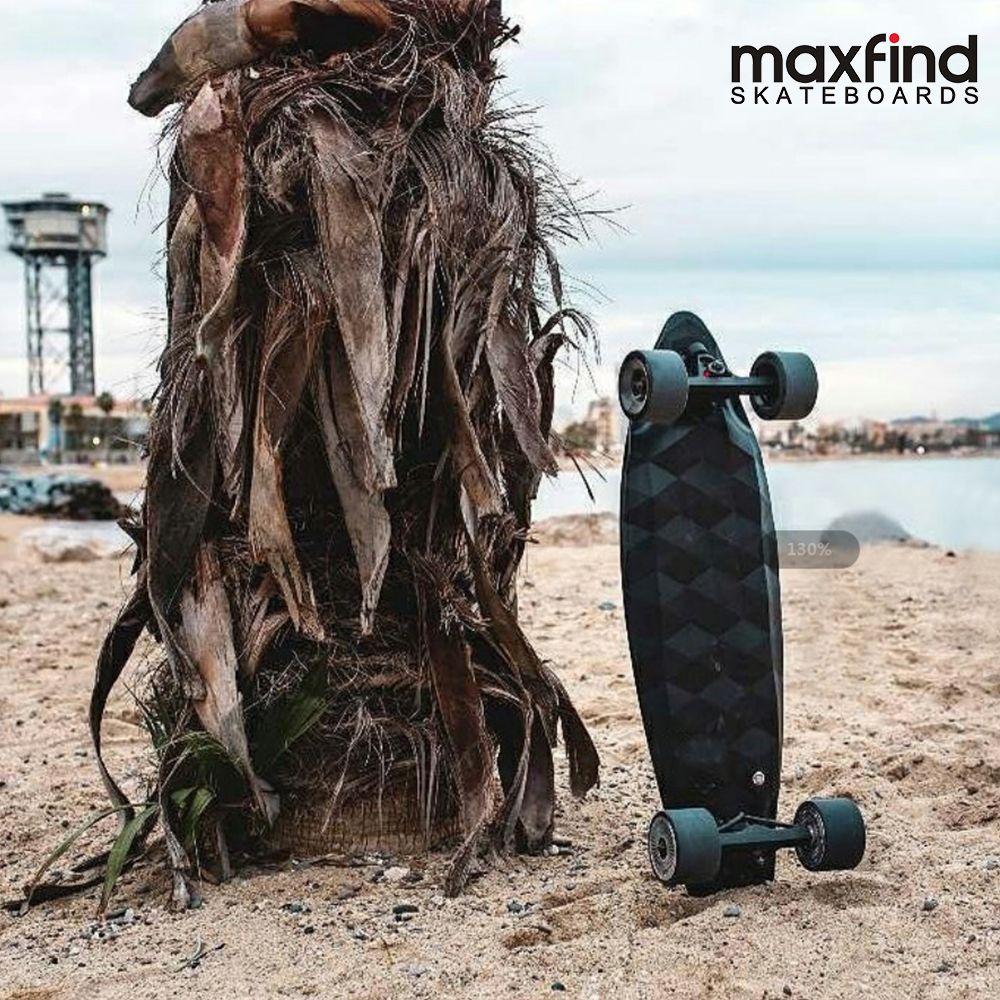 Maxfind Vier Rad Elektrische Skateboard MAX2, 1000 W * 2 Dual Motoren Wireless Remote Cotroller Roller Platte Bord Hoverboard
