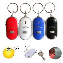 2018 New Mini LED Whistle Key Finder Flashing Beeping Remote Lost Keyfinder Locator Keyring for children/ the older dropshipping