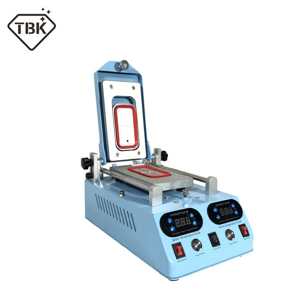 100% Original TBK TBK-268 Automatische LCD Lünette Heizung Separator Maschine Für Wohnung Curved Screen 3 in 1 Touch Screen Separator