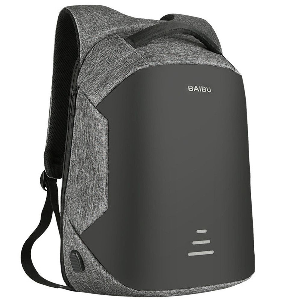 2018 New Arrival <font><b>16inch</b></font> External Charging USB Laptop Backpack Anti-Theft Large capacity Waterproof backpack for Men Mochila