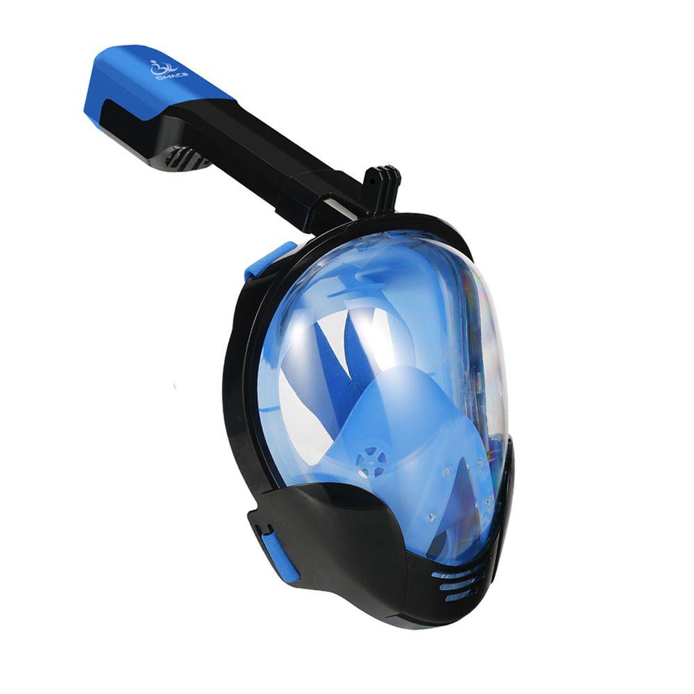 Snorkel Diving Mask Full Face Snorkeling Scuba Anti Fog Snorkel Set Underwater Swimming Scuba Mergulho Training Accessories