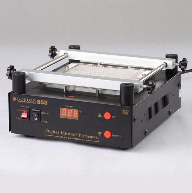 GORDAK 853 High power ESD BGA rework station PCB preheat and desoldering IR preheating station