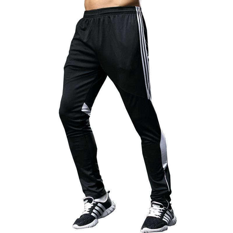 Hommes Football Pantalon Long respirant Football Gym hommes Sports Joggings pantalons de survêtement Leggings Masculina Pantalon Chandal Hombre futbol