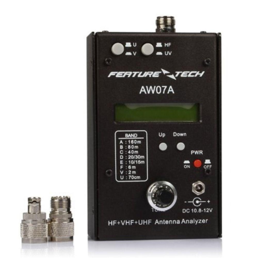 battery powered RF impedance analyzer AW07A HF + VHF + UHF Antenna Analyzer