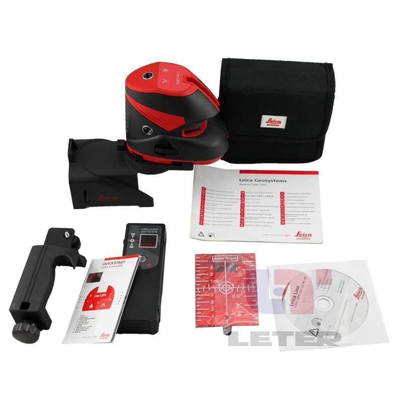 Lino L2P5 laser level laser Linie mit Laser Level Pol und empfänger