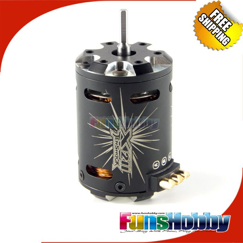 Tenshock 1:10 Off Road On Road 4 Polig Elektrische RC Micro Sensor Brushless DC Motor TS-X211/7,5 T/3,5 T/4,5 T/17,5 T Für 1/10 Drift.