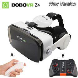 Virtual Reality goggles 3D Glasses Original bobovr Z4/ bobo vr Z4 Mini google cardboard VR Box 2.0 For 4.0''-6.0'' smartphone