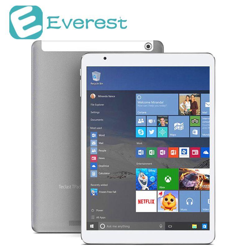 Teclast X98 Plus II tablet windows 10 et Android 5.1 Tablet PC 9.7 ''Intel Cerise Sentier Z8350 4 GB/64 GB IPS 2048*1536 tablet android