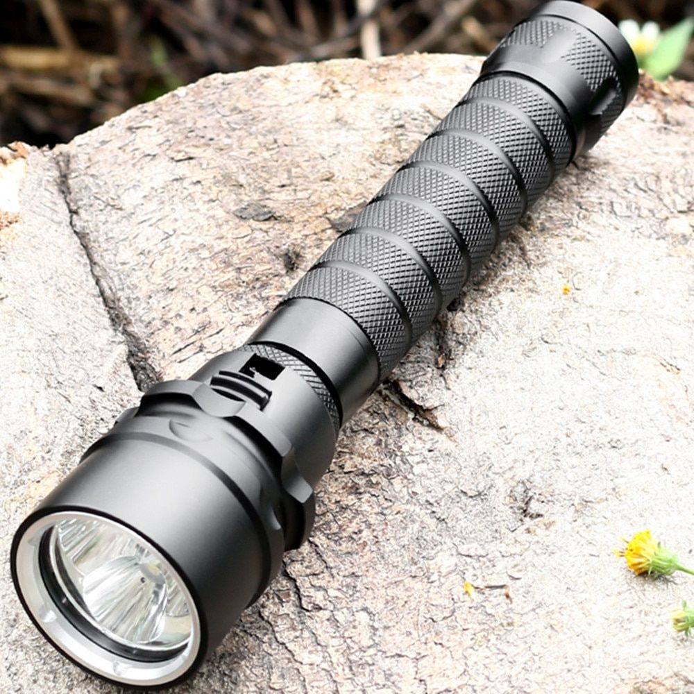 Sofirn MS11 Scuba Diving flashlight <font><b>18650</b></font> Powerful Dive Light Cree LED torch light Underwater handheld lights Stepless dimming