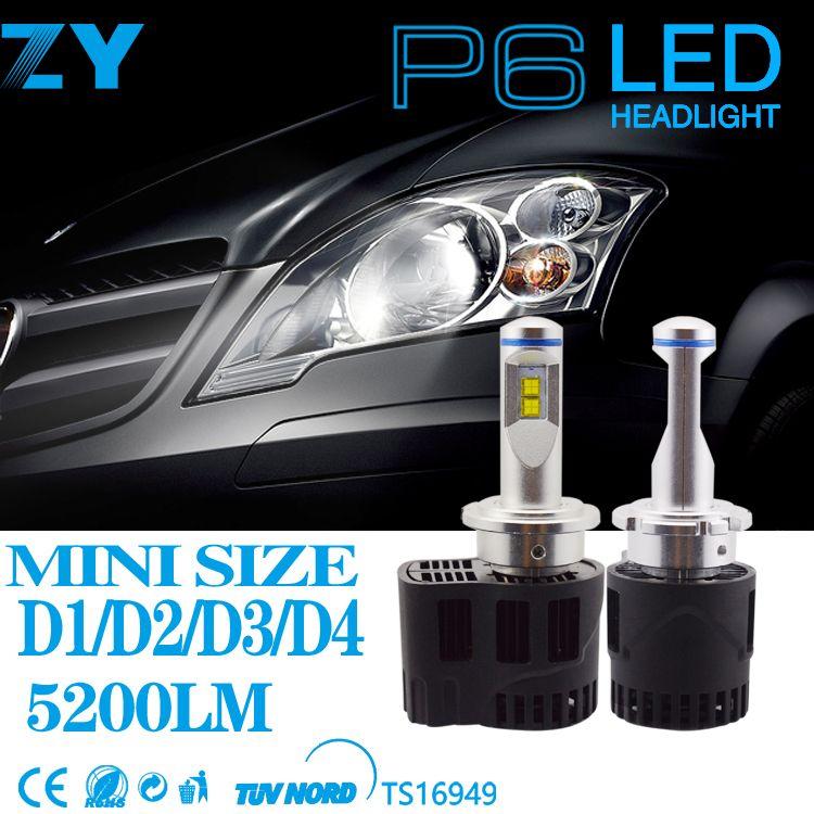 2 stücke Auto Styling Led-scheinwerfer 5202 9012 D1S D2S D3S D4S H15 6000 Karat LED 110 Watt 10400Lm LEDs Auto Bulb Auto Lampe Scheinwerfer ersetzen