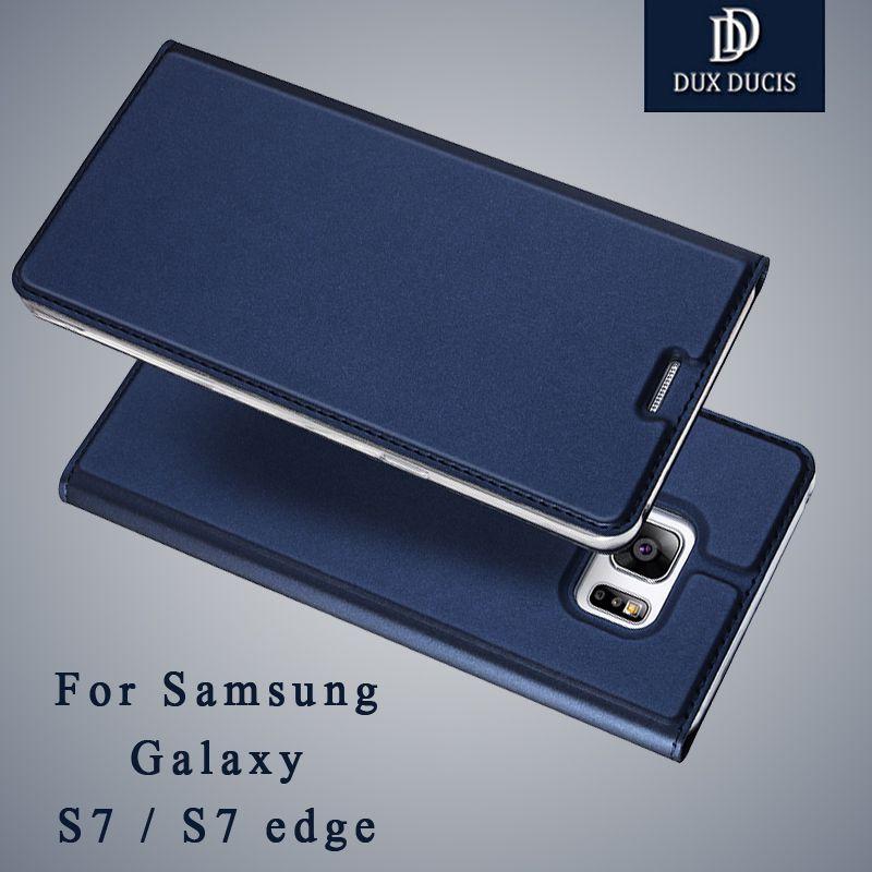 For Samsung Galaxy S7 Edge Case Dux Ducis Wallet Leather Case For Samsung s7 edge Case Flip Cover For galaxy s7 edge Coque case